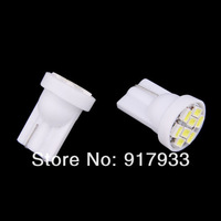 wholesale 100pcs T10 194 168 192 W5W 1206smd 8 smd super bright Auto led car lighting wedge clearance lamps bulbs License plate