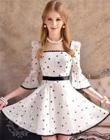 Free Shipping 2013 New Arrival Pink Doll Square-neck Half Sleeve Stars Print Mini Chiffon Dress Wholesale Retail Dropship