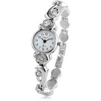 2013 dolphin heart rhinestone bracelet watch fashion student watch ladies watch