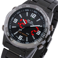 Fashion led watch male table casual watch