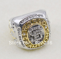 Free shipping replica Double color plating San Francisco Giants 2010 Baseball World Series Championship Rings size 11