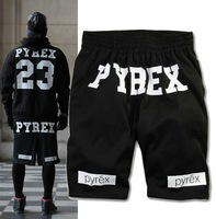 Pyrex Vision 23 Gym Shorts breathable shorts pants couple models