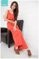 Spring ruffle tank dress jumpsuit trousers jumpsuit skirt wide leg pants