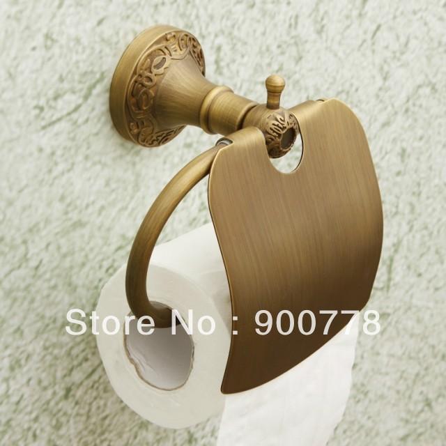 Fashion Vintage Copper Bathroom Toilet Paper Holder