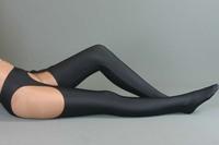 Lycra Zentai sexy clothing black pants costume