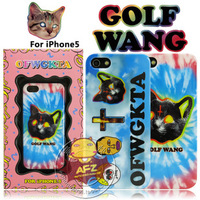 Christmas cross cat golf ofwgkta wang for iphone5 phone case protective case shell