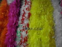 Big feather strip cashmere bountyless packaging material wedding decoration diy turkey vigoreux 16