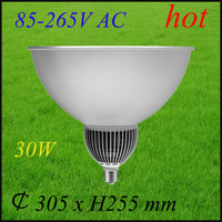 Led high bay light 30W /industrial light/85-265V AC/energy saving light/free shipping for DHL