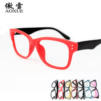 Vintage eyeglasses frame glasses frame star style myopia frame glasses Women
