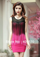 Free shipping 2013 women&#39;s dress mini dress fashion brief High quality casual macrame dress