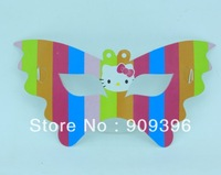 120pc hello kitty child party celebration supplies birthday butterfly glasses party decoration party cartoon mask NO40