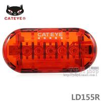 Cateye cat-eye highway bicycle rear light mountain bike 5led safety warning light super bright tl-ld155r