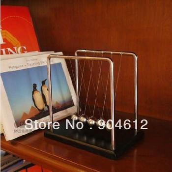High Quality Large Size:18*15*18cm Retail Newton Cradle Balance Balls Physics School & Educational Supplies teaching toys
