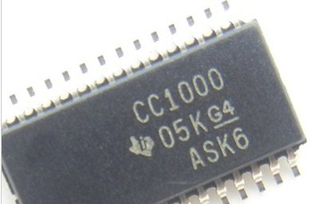 100% NEW CC1000  Single Chip Very Low Power RF Transceiver  IC ( CC1000PWR )