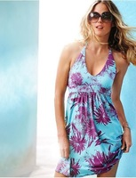 2013 New Women's Beach dress  Summer  Bikini Blouse 50pcs Freeshipping  Ice silk elastic