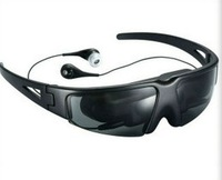 "Free Shipping!!Brand IVS Virtual Cinema Digital Video Eyewear Glasses 52"" Screen 60g Detachable"
