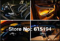 1.5 Meter Cold Light refires EL Sheet  Car Led Strip Cold Light  EL Sheet  Blue White Red Green Orange \ Sky blue