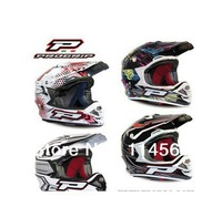 Genuine PROGRIP Carbon fiber Motorcycle Cross country Helmet