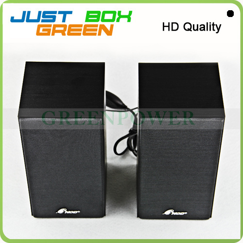 Promotional Gift !! 3NOD Speaker Wood Material For Notebook/PC/MID USB 2.0 port. Real Loudspeaker! From China Top Brand!(China (Mainland))