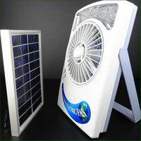 Wholesale-Solar Panel Room Fan, Sun Cell Window Ventilator Black - Brand New
