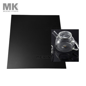 Photo Studio Black Reflection Display Boards 30*40cm with Plate Holder Photography Shooting
