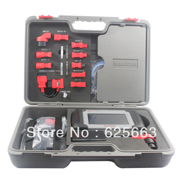 Professional Auto Diagnostic Autel MaxiDAS DS708 Scan Tool Universal Update Free on Autel Offical Site free shipping by DHL(China (Mainland))