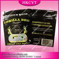 Gorilla Dro  herbal incense bags 3g