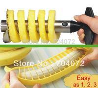 Free shipping!!! Stainless Steel Pineapple Peeler Corer Slicer + Banana Cutter Slicer CHOPPER