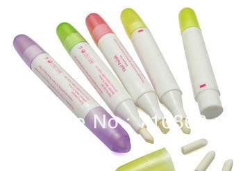 Free shipping nail Polish Pen 5 Pcs Nail Art Corrector Remover