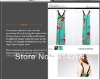 Korea Women's Bohemian Strappy Maxi Long Dress Skirt BOHO Flower Sundress Lady     free shipping