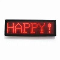 LED badge LED mini display LED name tag