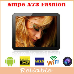 Newest!!! 7inch Ampe A73 fashion version RK2928 512MB/8GB 1.5GHz android 4.1 HDMI OTG bulk wholesale android tablets(China (Mainland))