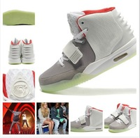 Hot Sale Famous Trainers Air Yeezy 2 Rerto Kanye West Sport Men's Basketball Shoes High Quality Hip-Hop Fashion Athletic Shoe