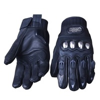 Hot New Men Driving Racing Bicycle Motorcycle Cycling FIRE ROLLER Leather Gloves