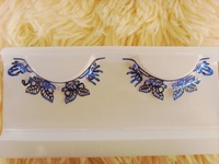 Paper cutting false eyelashes butterfly paragraph multicolour paper false eyelashes style personality eyelash