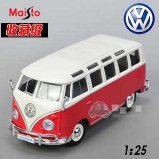 Vw classic bus alloy car model delicate model