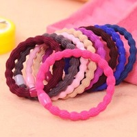 Min.order is $10 (mix order) high quality colorful hair band hair rope hair jewelry !!  Free shipping H3040
