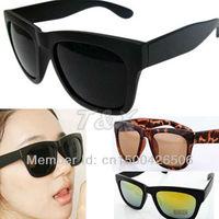 Free Shipping! Christmas Gift 2013 Fashion New Goggles Unisex Summer Shades Squared Wayfarer Style UV400 Sunglasses 120-0004