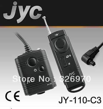 10 PCS JYC Camera Wireless Remote Control C3 for Canon 5D 7D 50D 40D 30D 20D 5DMARK II 5D MARK III 1D 1DSIII free(China (Mainland))