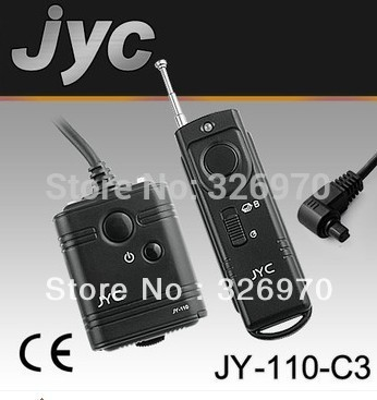 JYC Camera Wireless Remote Control C3 for Canon 5D 7D 50D 40D 30D 20D 5DMARK II 5D MARK III 1D 1DSIII free(China (Mainland))