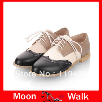 Free shipping the new arrivals in 2013 business casuals shoes for women the platform flats big size EU 34-43 J1548