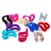 free shipping wholesale cheap!!! Flock printing Non-slip hanger partner Robe Hooks   slip-resistant hanger Mini hook