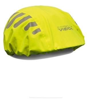 Stunning helmet set waterproof ride helmet cover neon hat set 007
