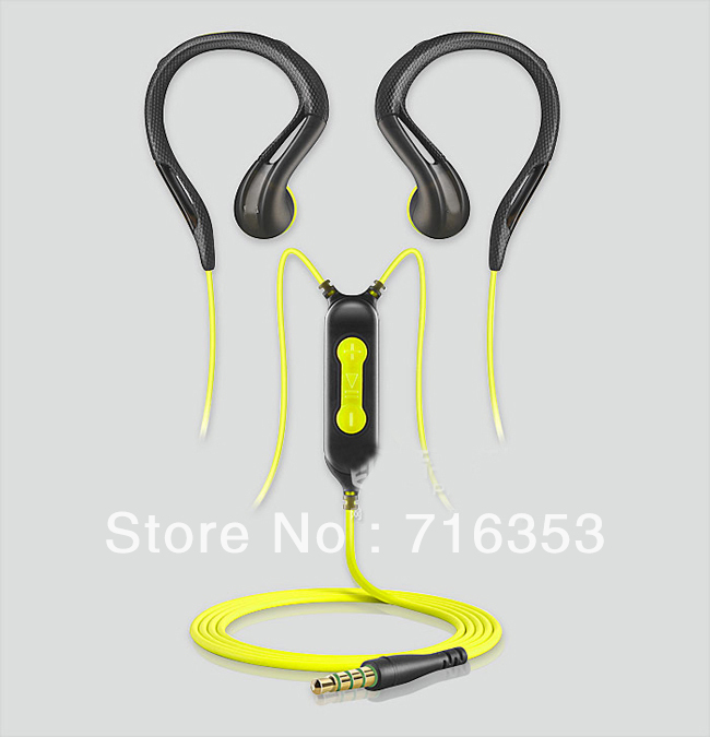 Free shipping!! High Quality OMX680i OMX 680i Stereo In-ear Sport Water Resistant w/Smart Remote &amp; Mic Earphone Earbud Headphone(China (Mainland))