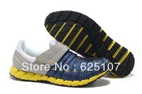 Free Shipping PM 2013 New Brand Sport  Shoes For Men Comfortable Breathable Velcro Brand Sneakers 865 Size 40-46