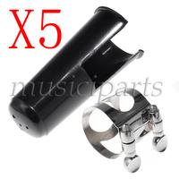 freeshipping 5* Bb Clarinet Mouthpiece nickel Ligature/plastic cap clip fastener new clarinet