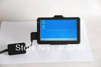 LCD Monitor of AVL GPS tracker,Taxi cabs,GPS Vehicle Tracking device ,RS232 DB9, Vehicle Touch LCD Monitor with windows CE 6.0