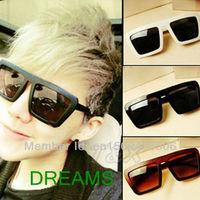 Free Shipping! 2013 Fashion New Goggles Women Lady Summer Shades Squared Wayfarer Style UV400 Sunglasses 120-0009