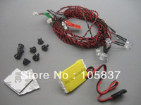 8 LED Flashing Light System For RC Helicopter Plane Glider MK KK Multicopter Hot