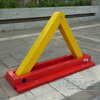 Thickening a parking lock manual delta-type lock parking lock bumper